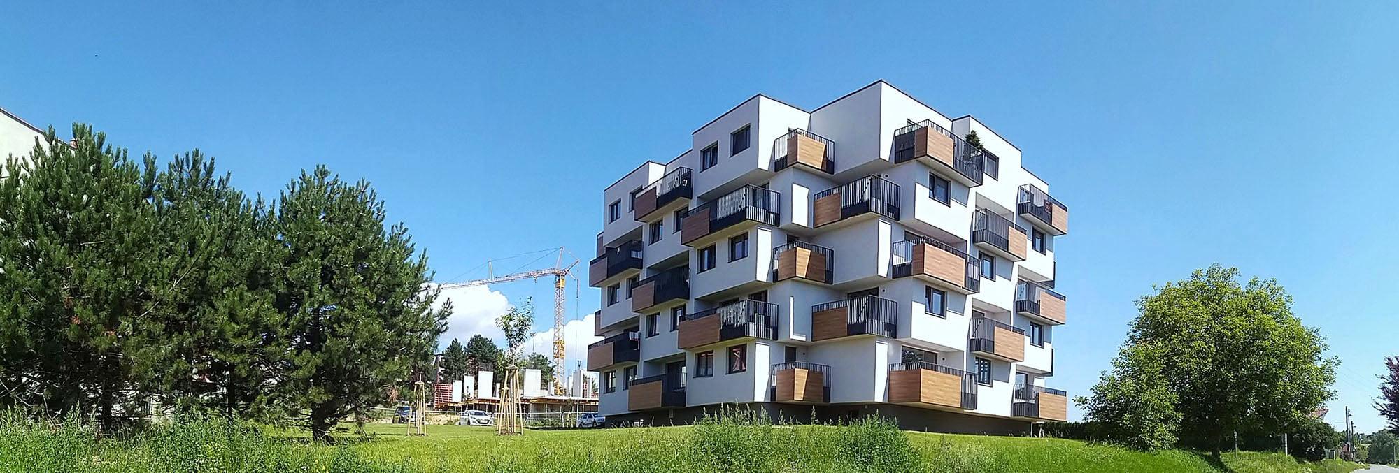 Kaskádové bytové domy
